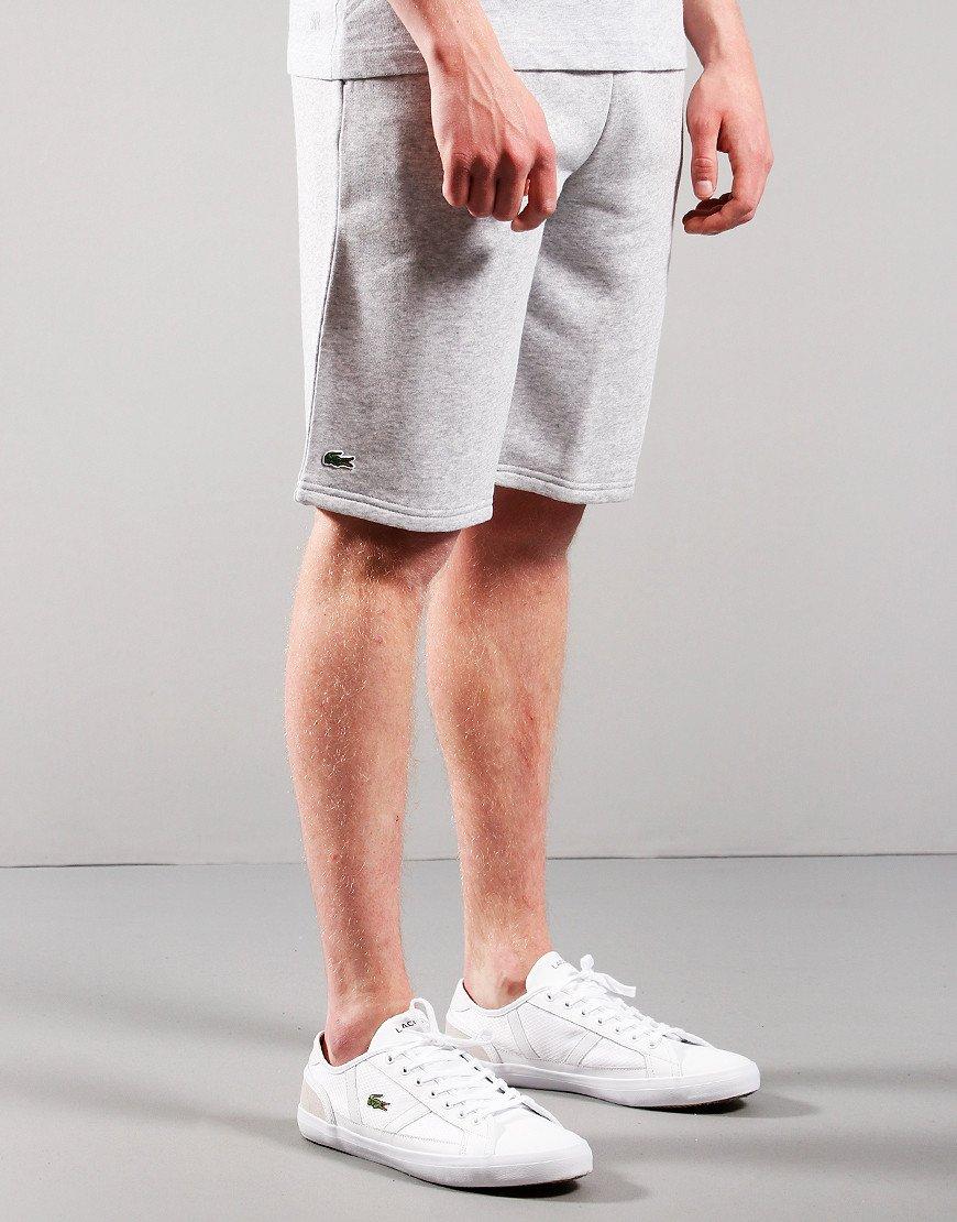 Lacoste Kids Jog Shorts Silver Chine