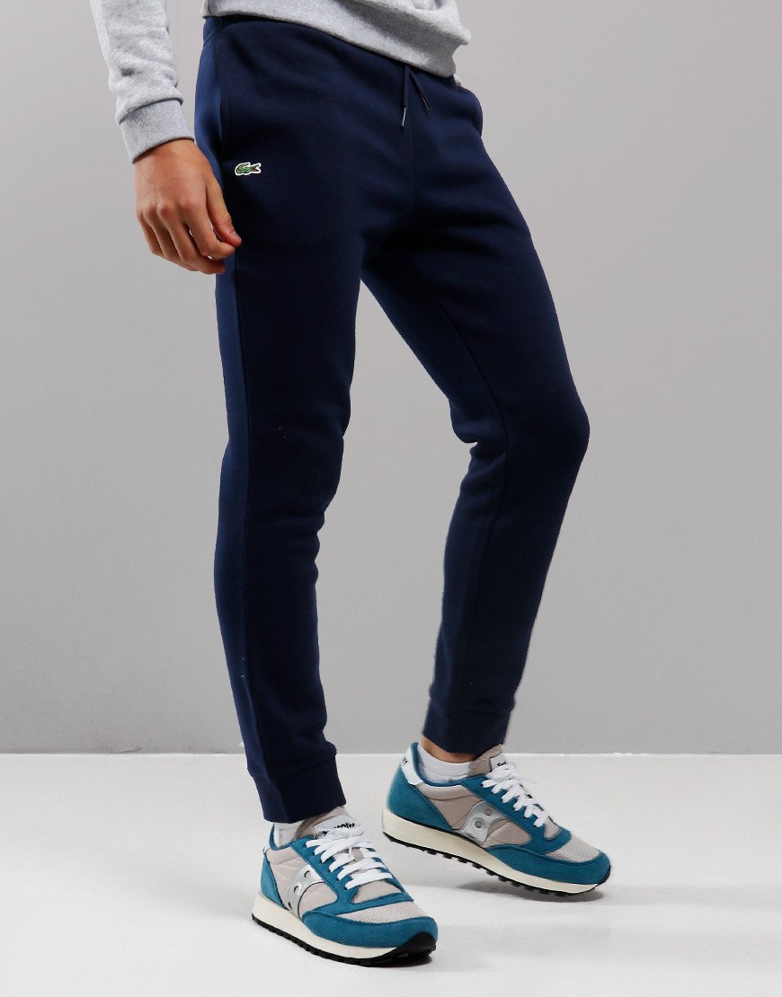 Lacoste Kids Sport Fleece Joggers Navy Blue