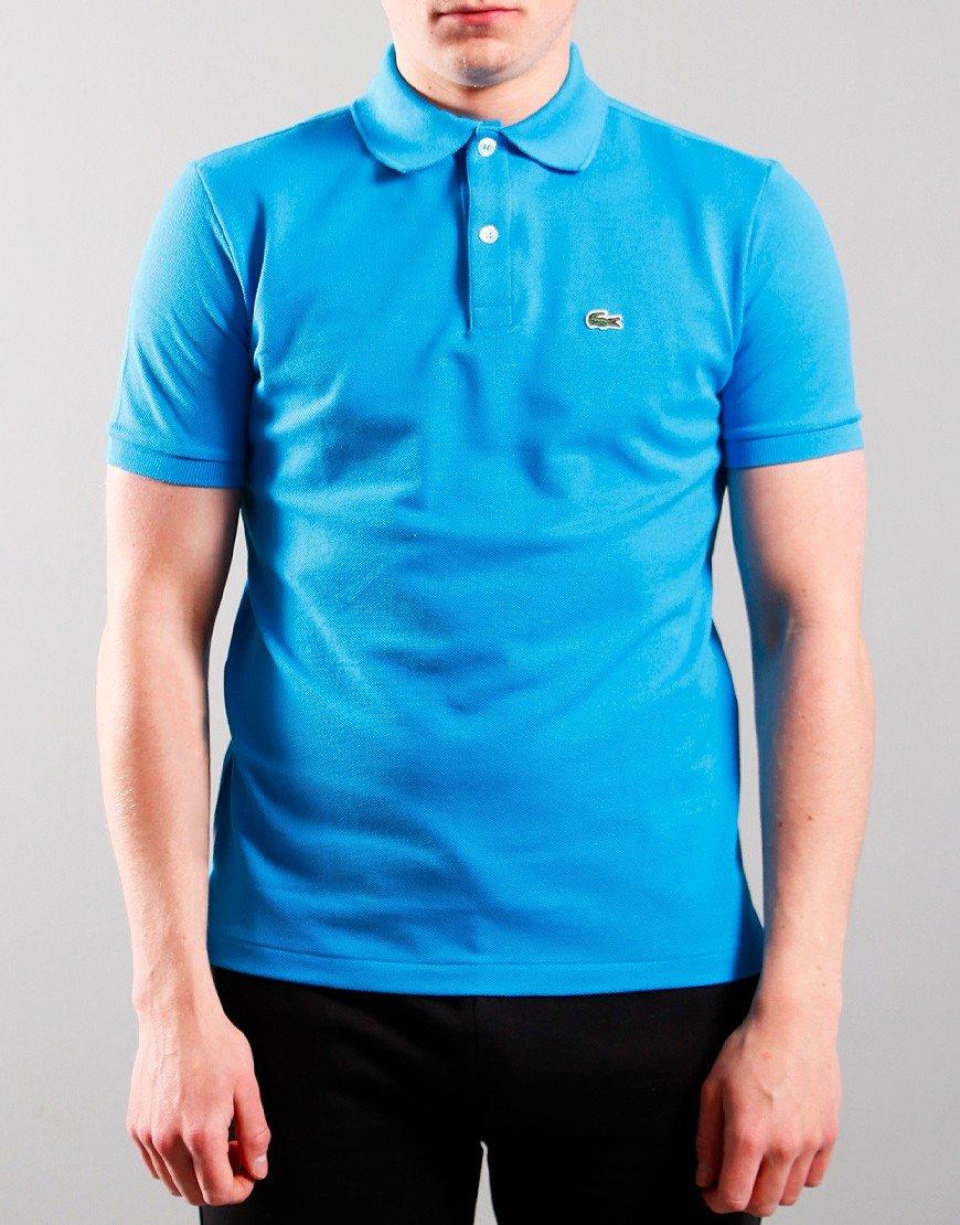 Lacoste Kids Plain Polo Shirt Ibiza