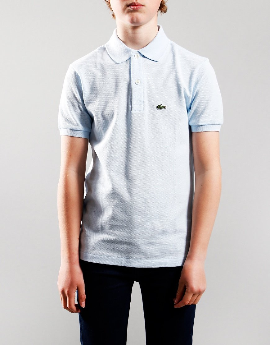 Lacoste Kids Plain Polo Shirt Rill