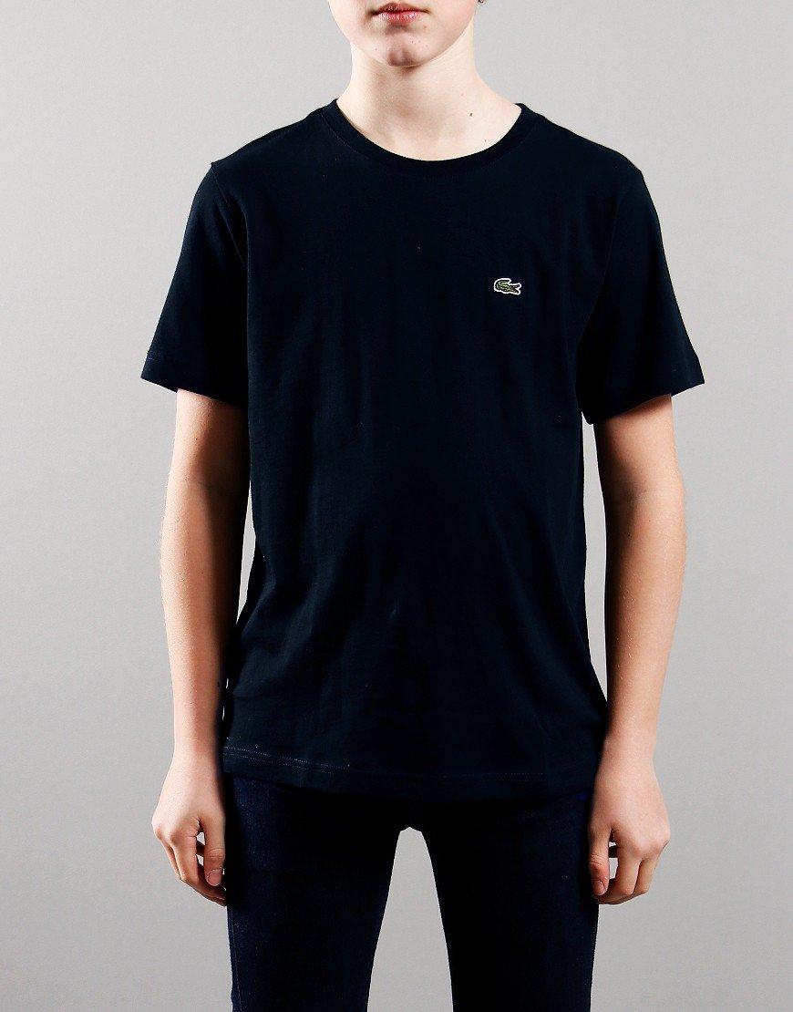 Lacoste Kids Crew Neck T-Shirt Navy Blue