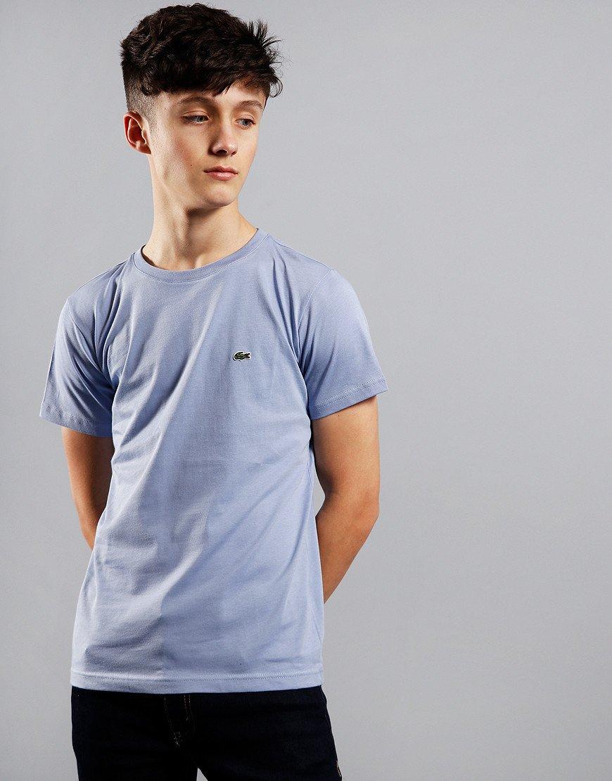 Lacoste Kids Plain T-Shirt Purpy