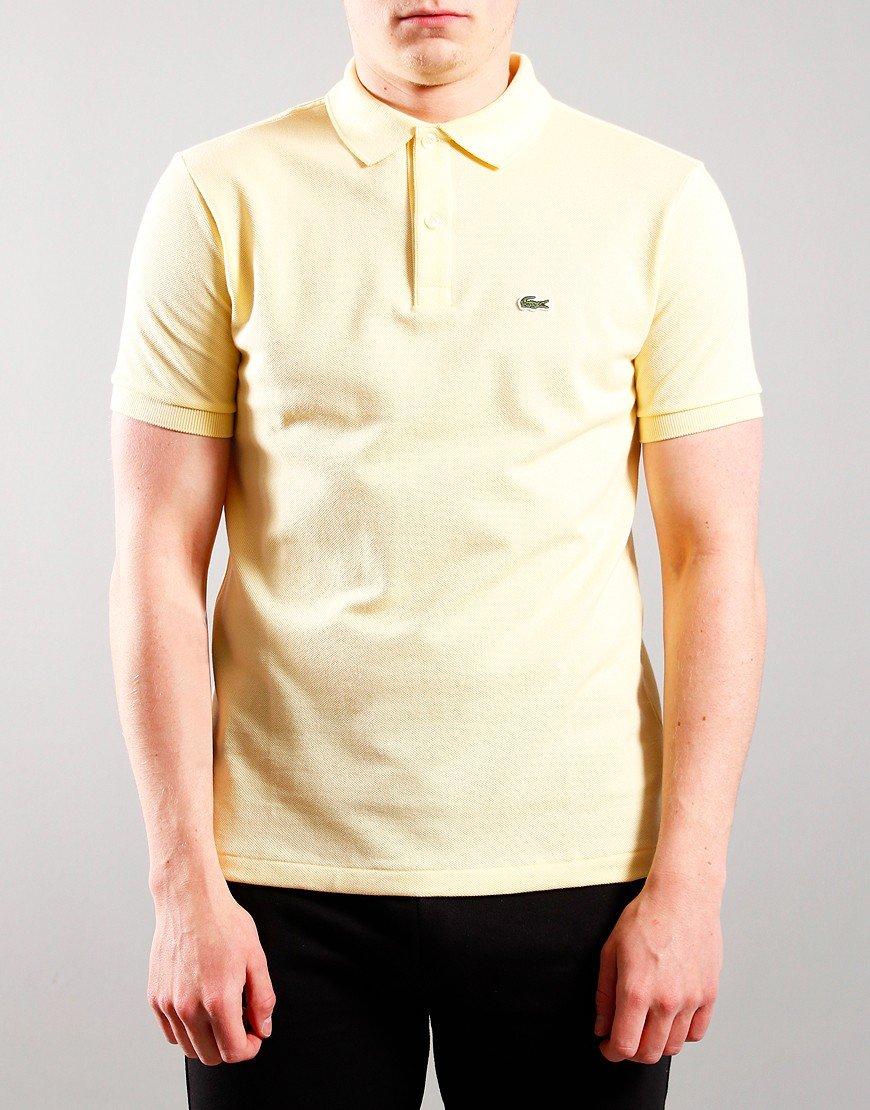 Lacoste Kids Plain Polo Shirt Zabaglione