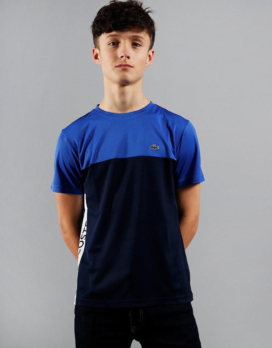 Lacoste Kids Side Stripe T-Shirt Obscurity