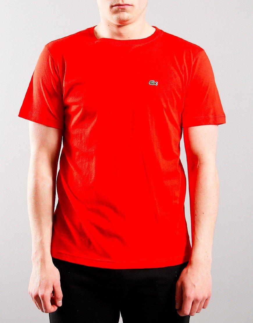 Lacoste Kids Plain T-Shirt Redcurrant Bush