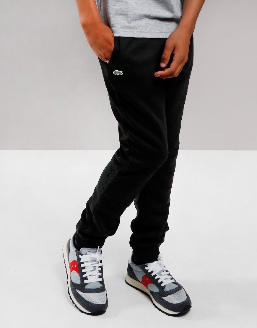 Lacoste Sport Fleece Joggers Black