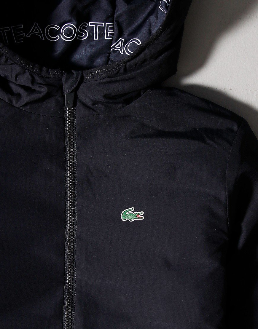 Lacoste Kids Light Weight Padded Jacket Abysm/White