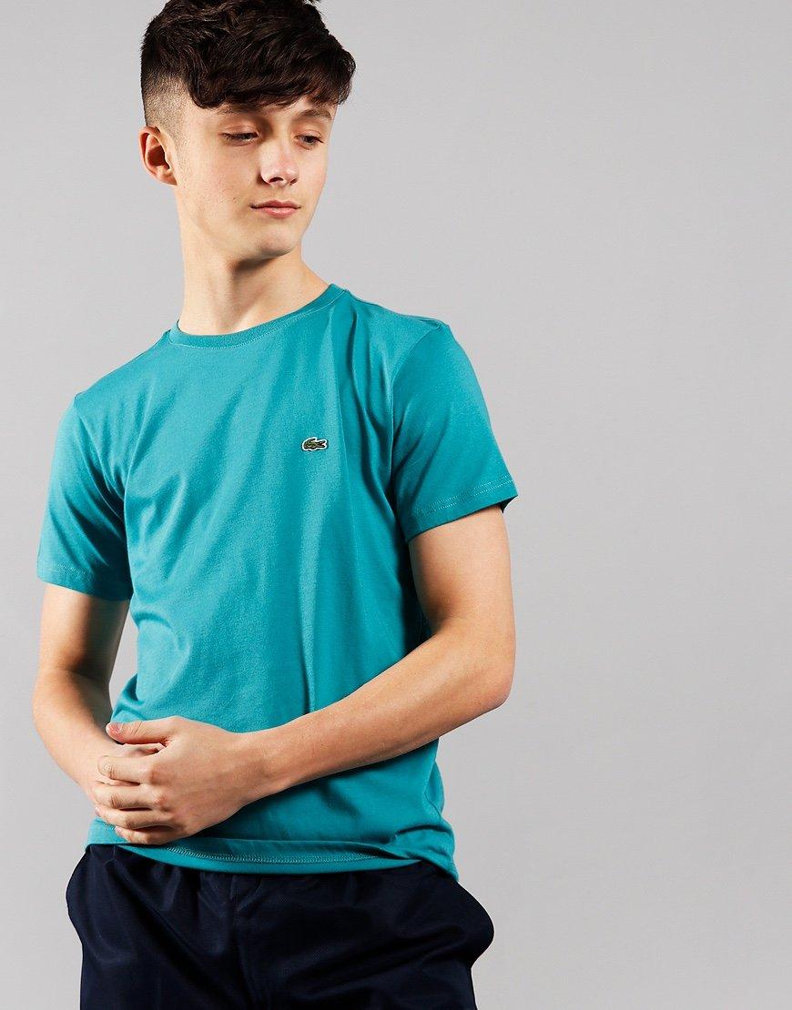 Lacoste Kids Plain T-Shirt Niagara Blue