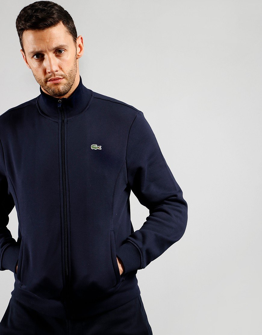Lacoste SPORT Fleece Zip Sweat Navy