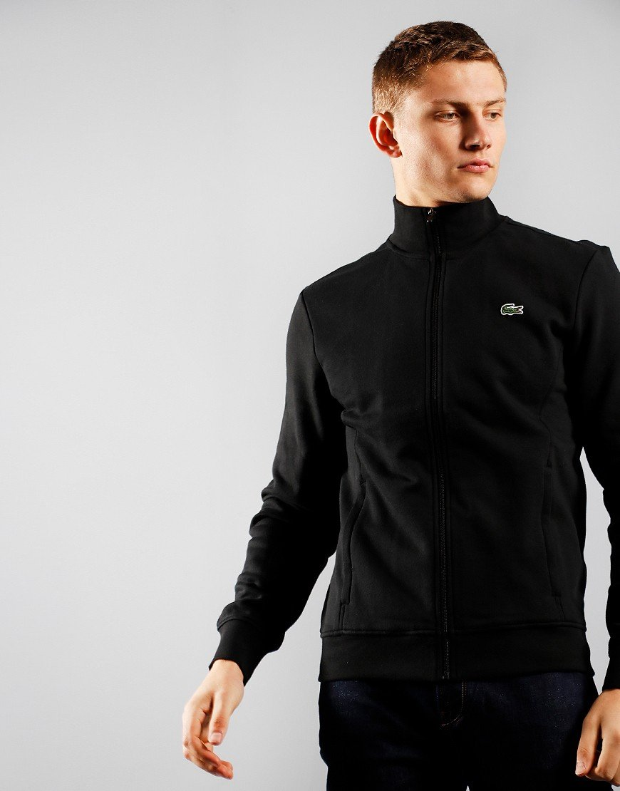 Lacoste SPORT Fleece Zip Sweat Black