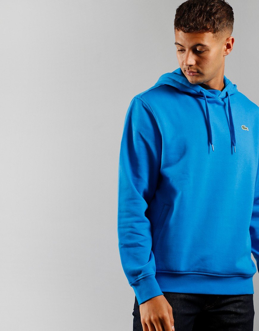 Lacoste SPORT Hooded Fleece Ultramarine