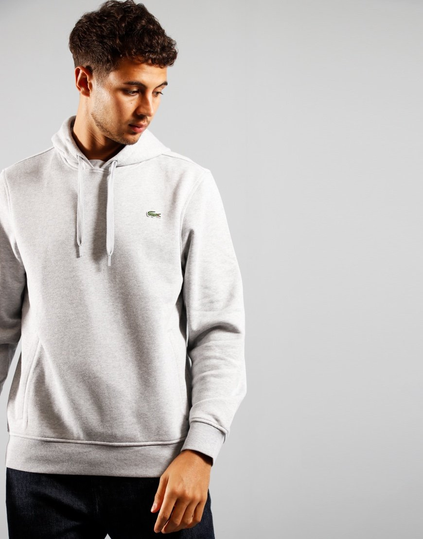 Lacoste Sport Hooded Fleece Pitch Chine/Graphite