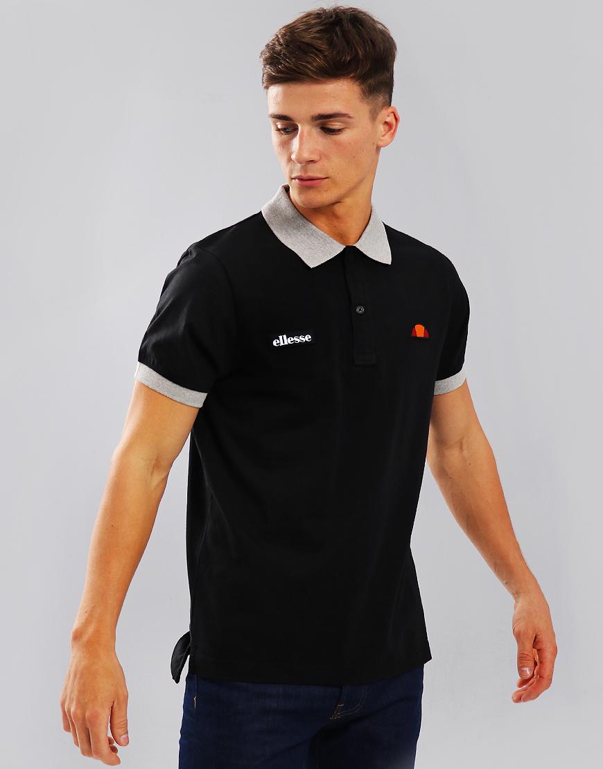 Ellesse Lessepsia Polo Shirt Anthracite/Grey