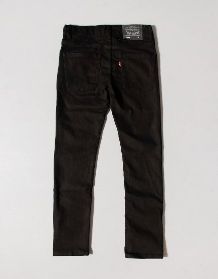 Levi's Kids 510 Skinny Jeans Black Stretch
