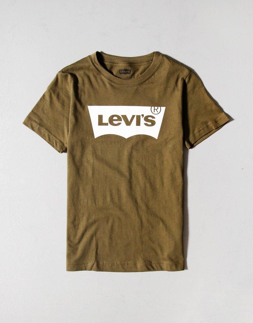 Levi's Kids Batwing T-shirt Olive