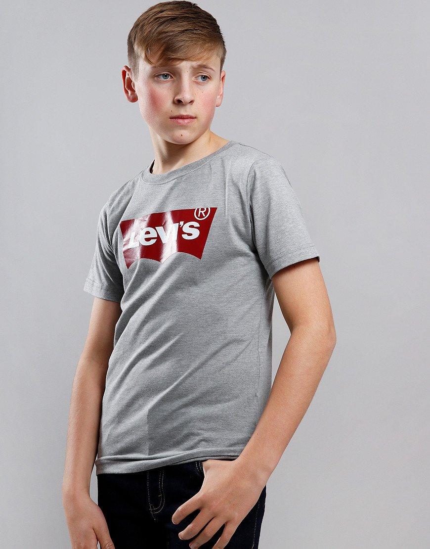 Levi's Kids Logo Print T-Shirt Grey