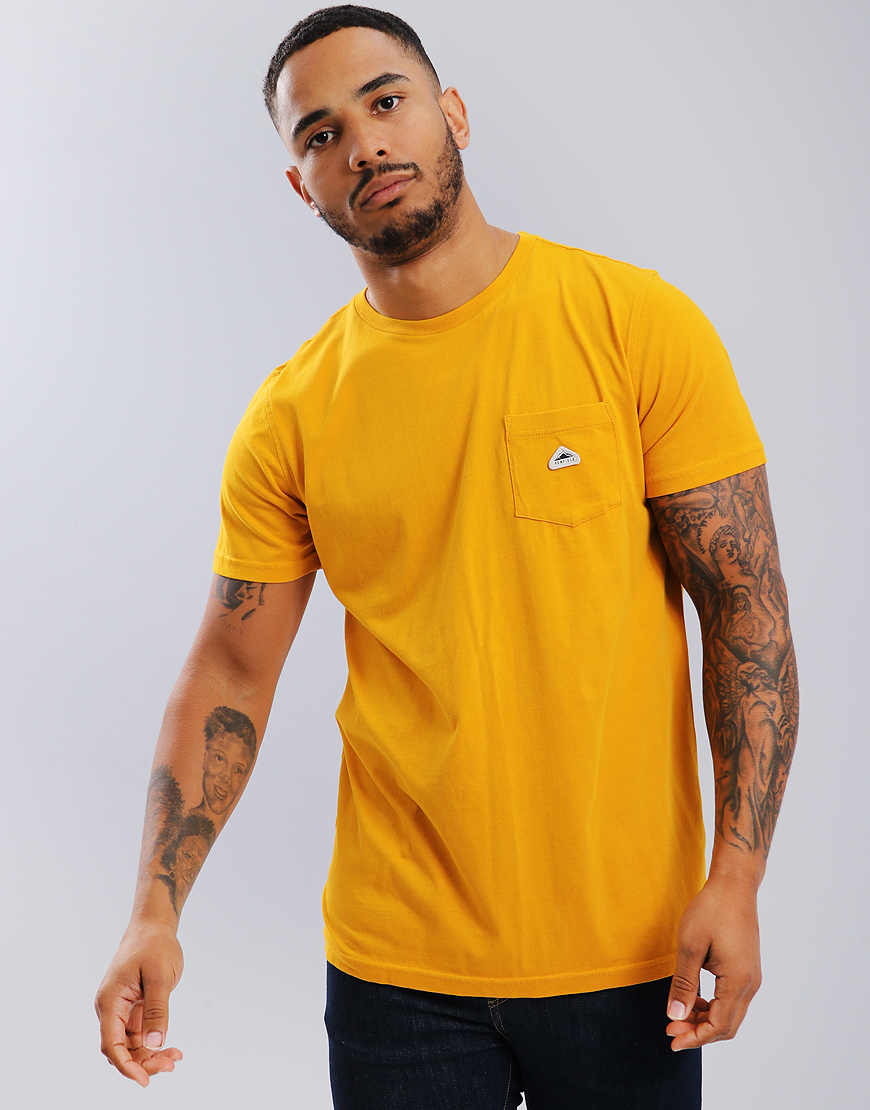 Penfield Lewis Pocket T-Shirt Golden Yellow