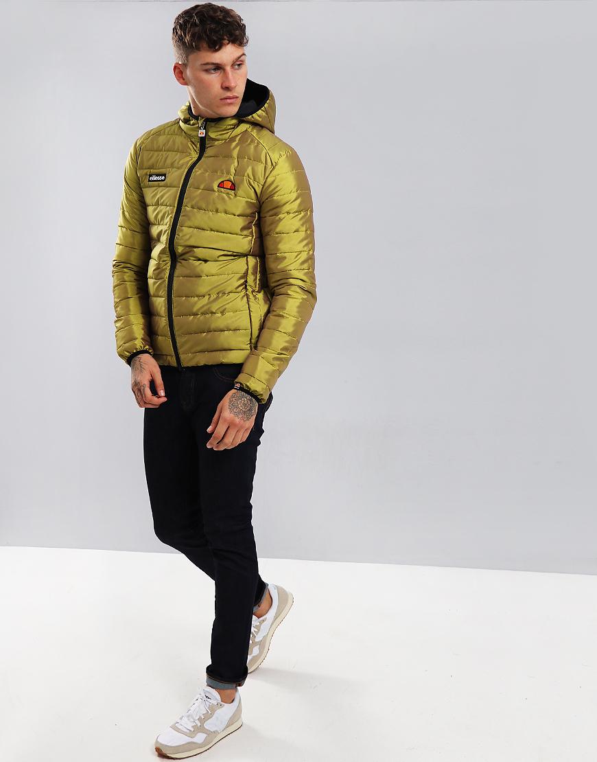 Ellesse Lexus Padded Jacket Gold