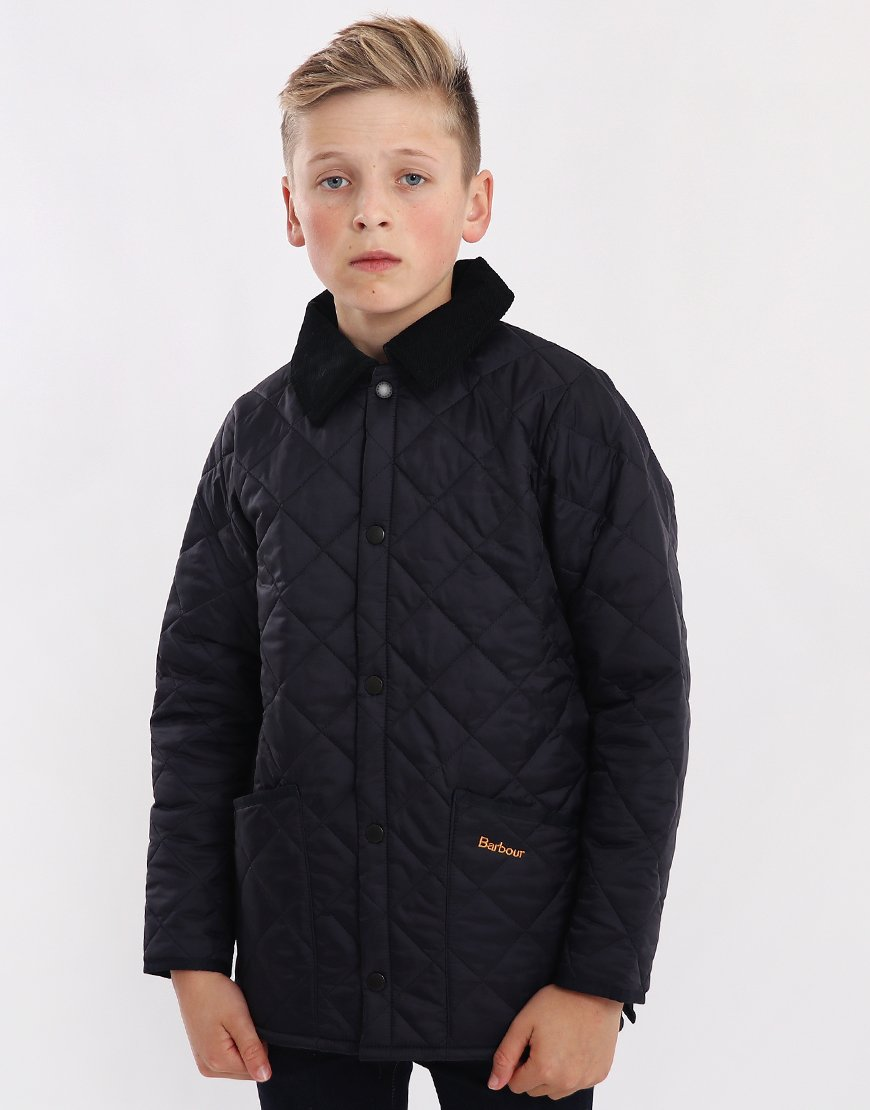 Barbour Children Liddesdale Quilted Jacket Navy