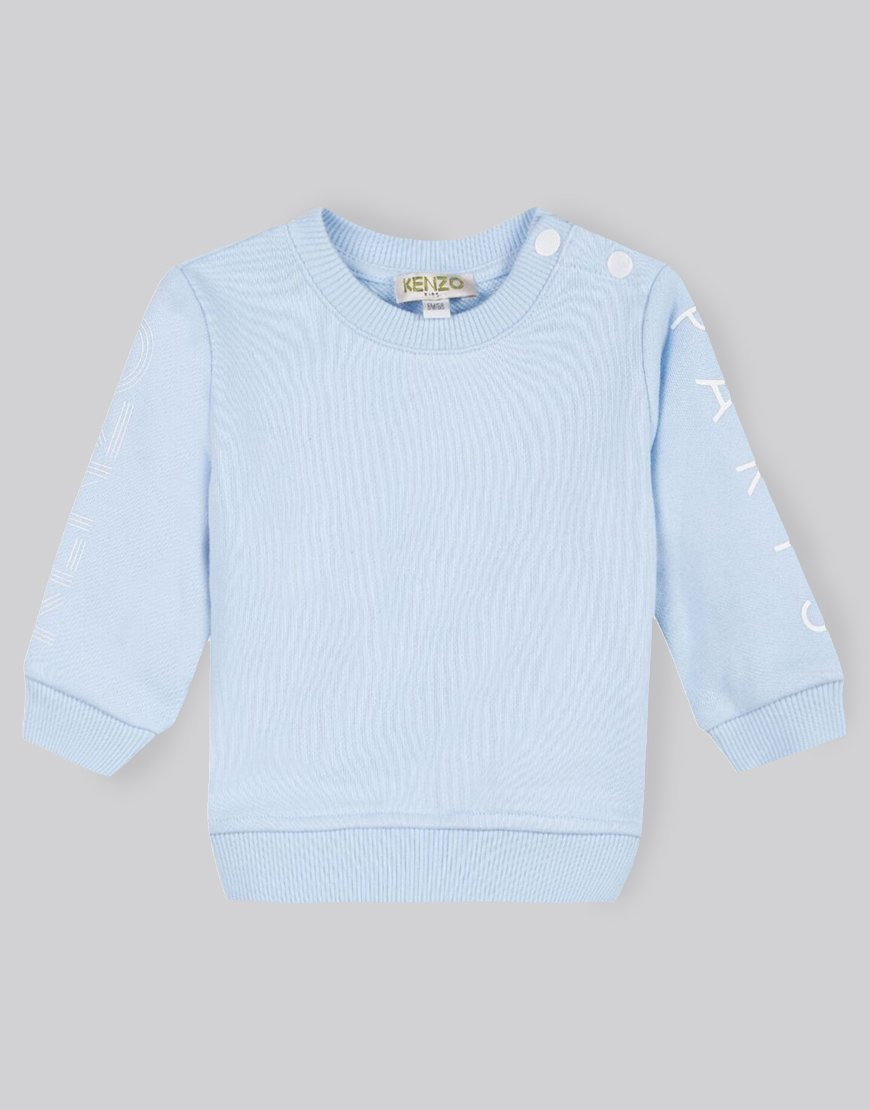 KENZO Kids Arm Logo Sweat Light Blue