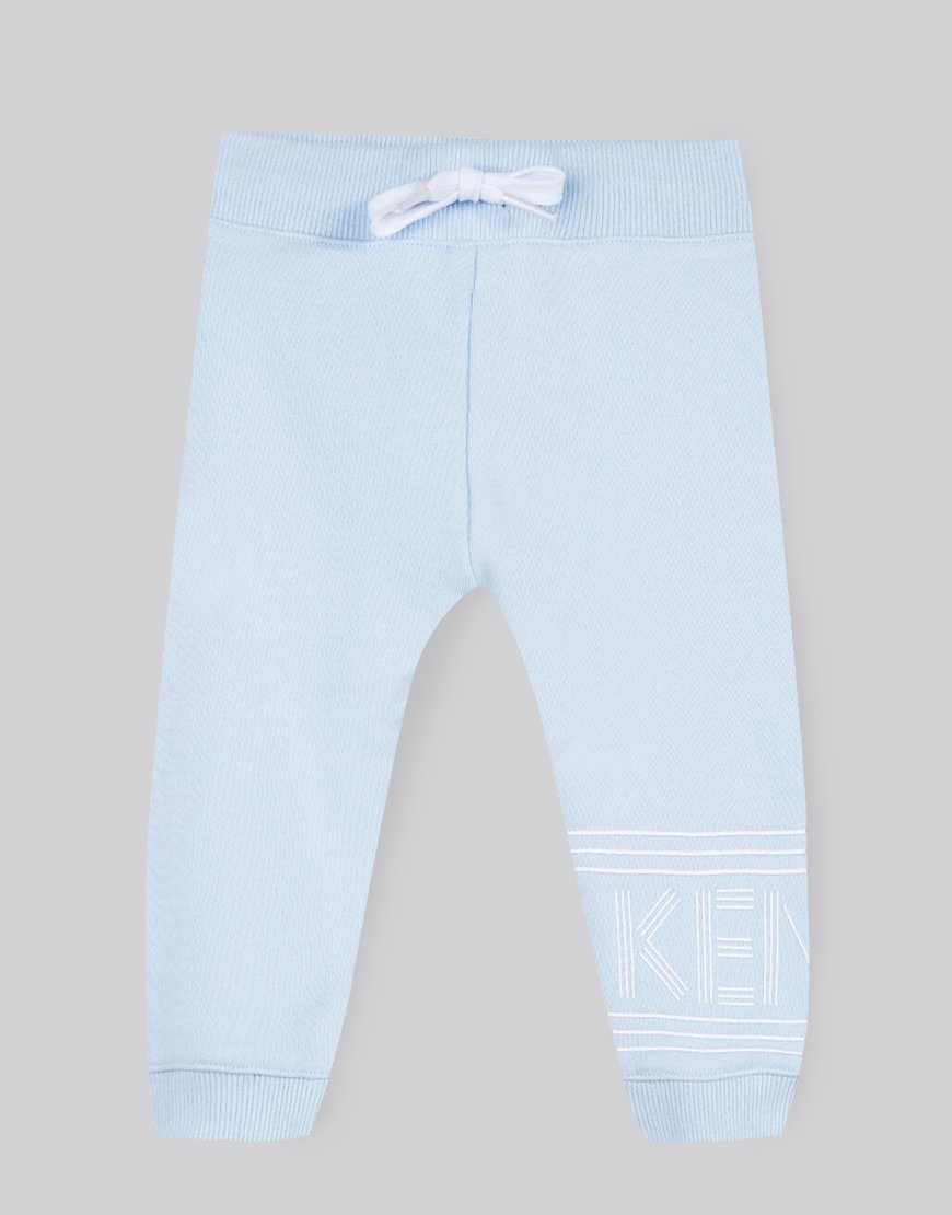 Kenzo Kids BB Logo Track Pants Light Blue