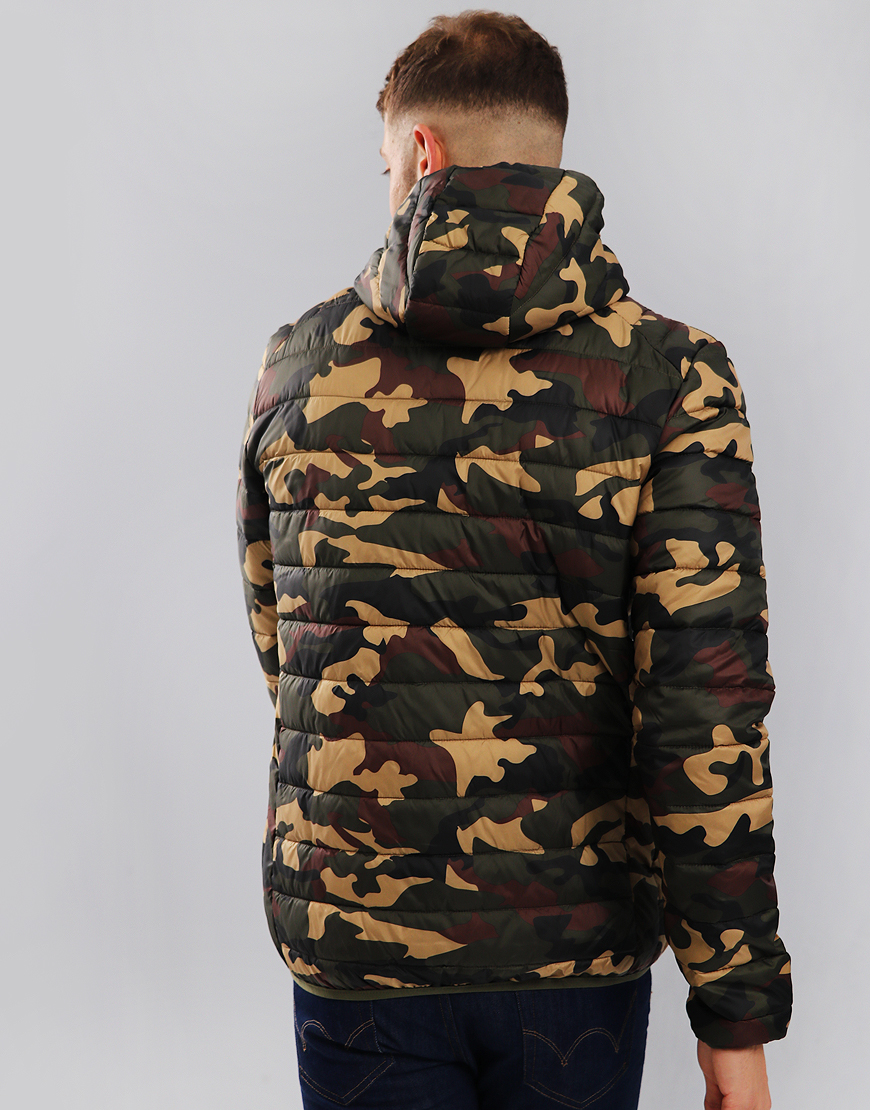 Ellesse Lombardy Jacket Camo