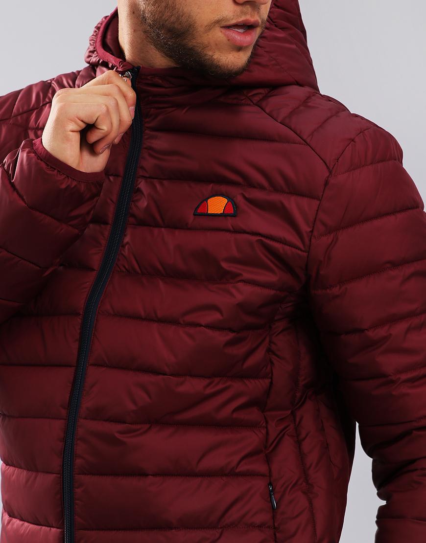 Ellesse Lombardy Puffer Jacket Zinfandel