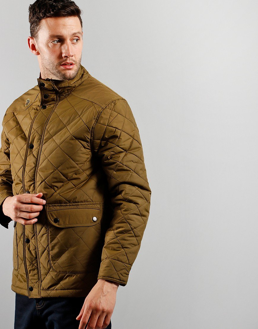 Luke 1977 Brochet Quilted Jacket Khaki