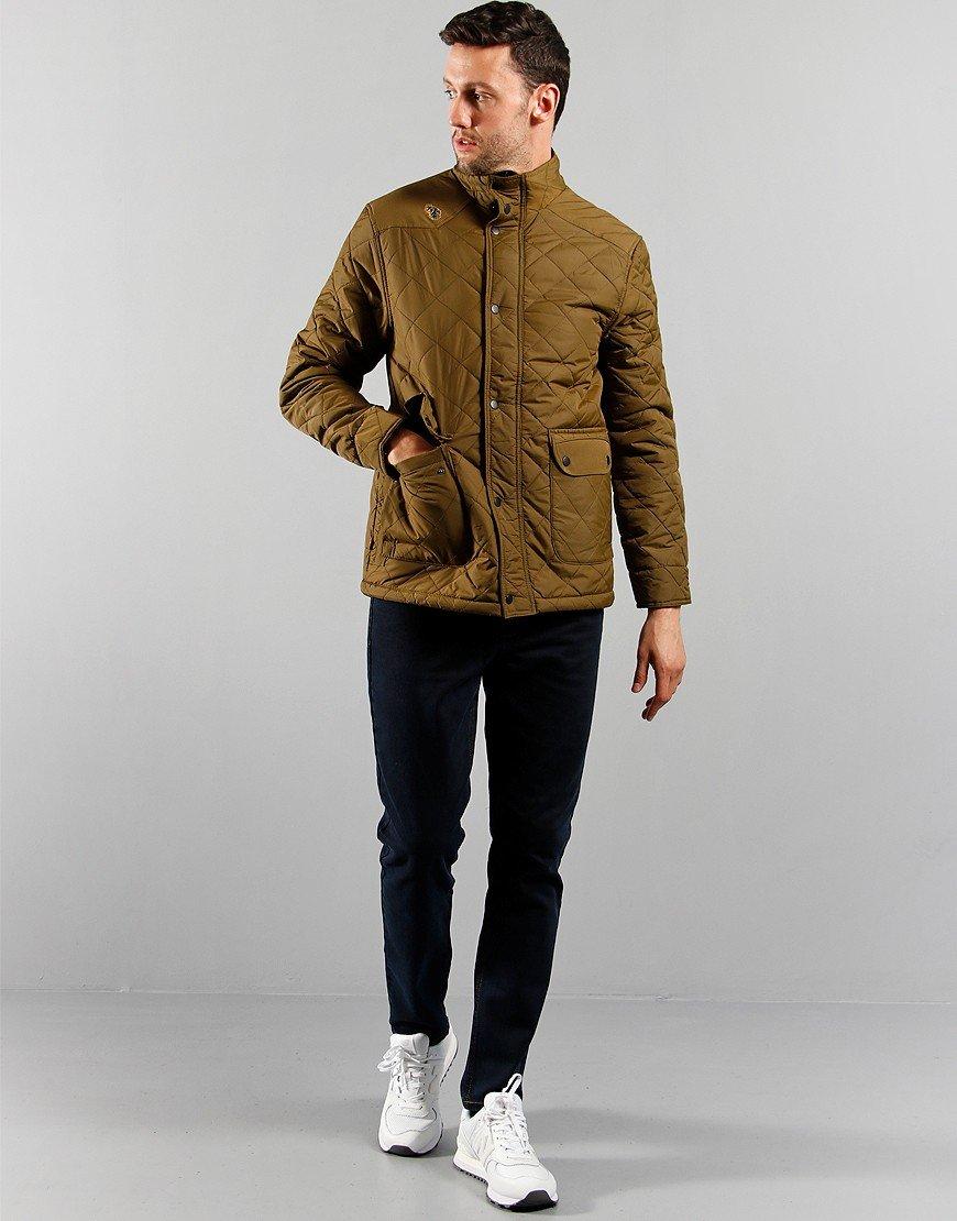 Luke 1977 Brochet Quilted Jacket Khaki