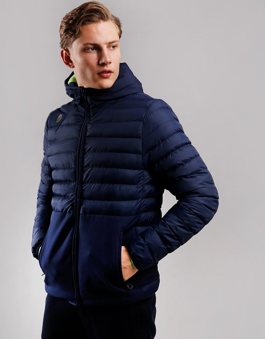 Luke 1977 Bubbla Quilted Jacket Navy