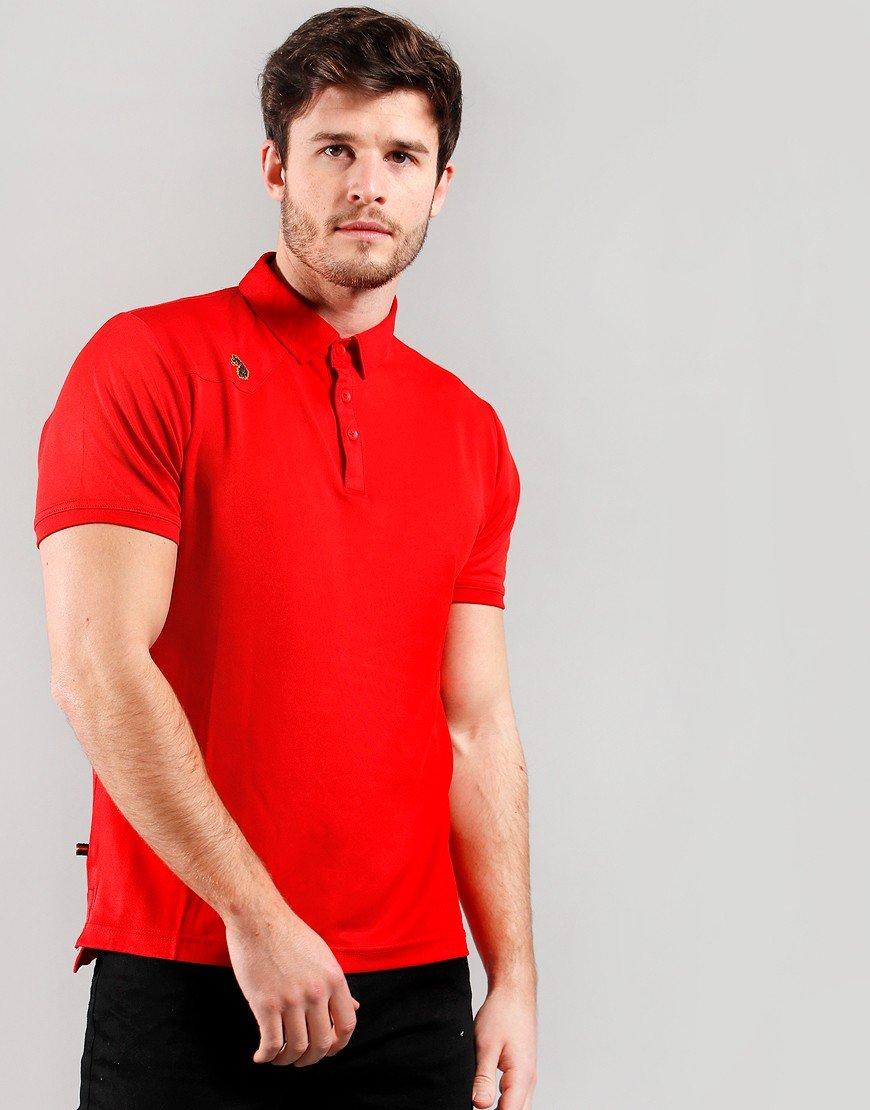 Luke 1977 Chandlers Polo Shirt Marina Red