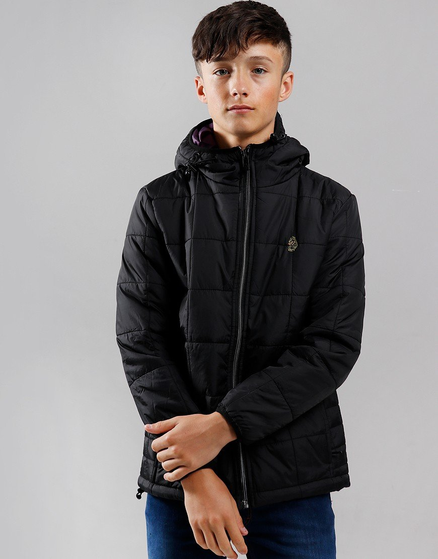 Luke 1977 Kids Southy Junior Padded Jacket Black