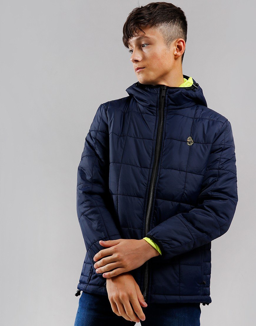 Luke 1977 Kids Southy Junior Padded Jacket Navy