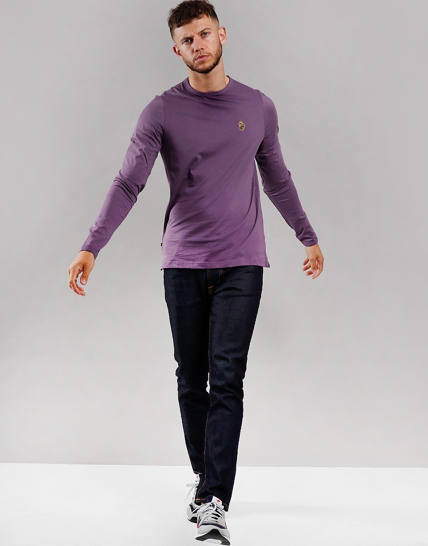 Luke 1977 Trousersnake Long Sleeve T-Shirt Mulled Grape