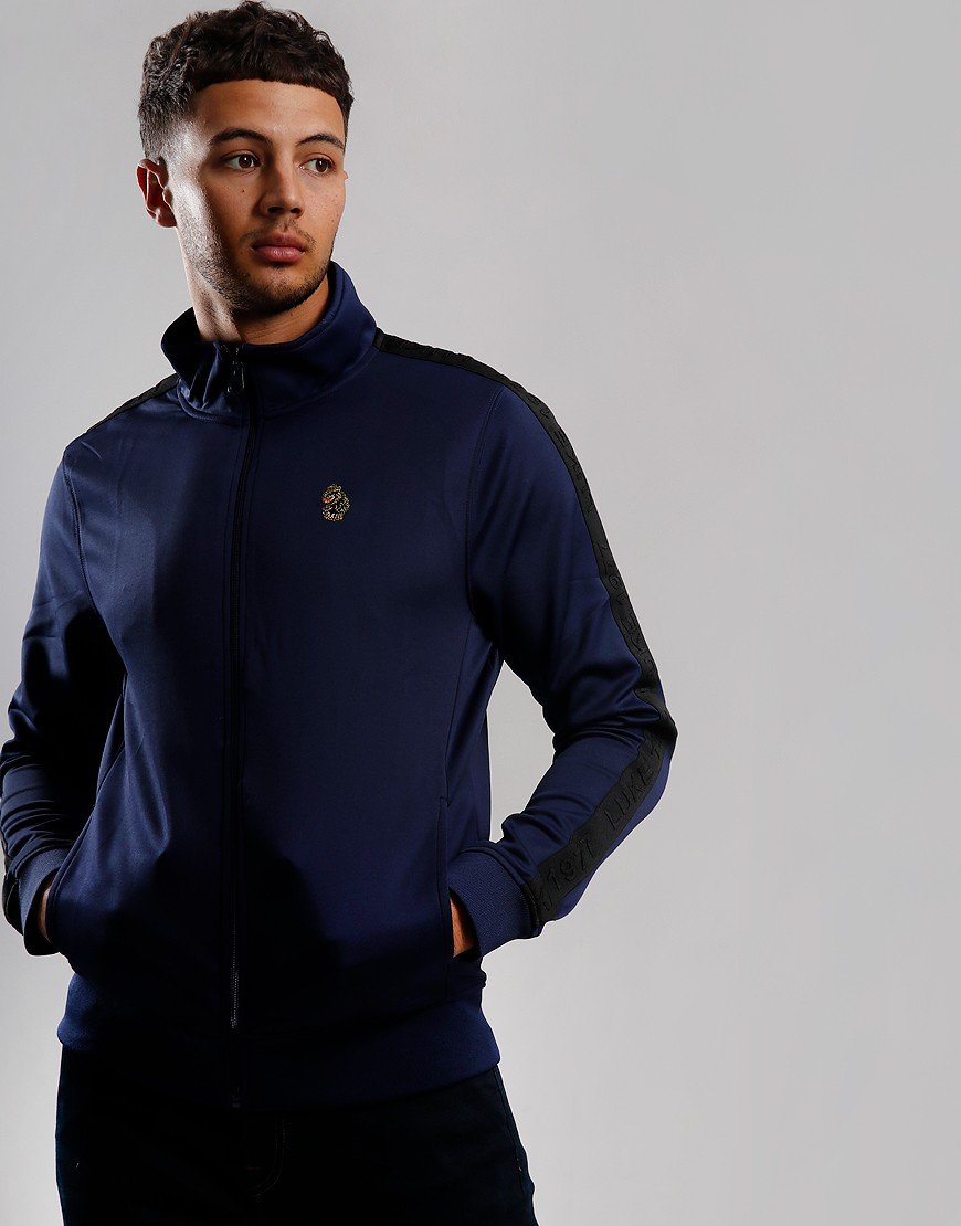Luke 1977 Trico Taped Track Top Navy