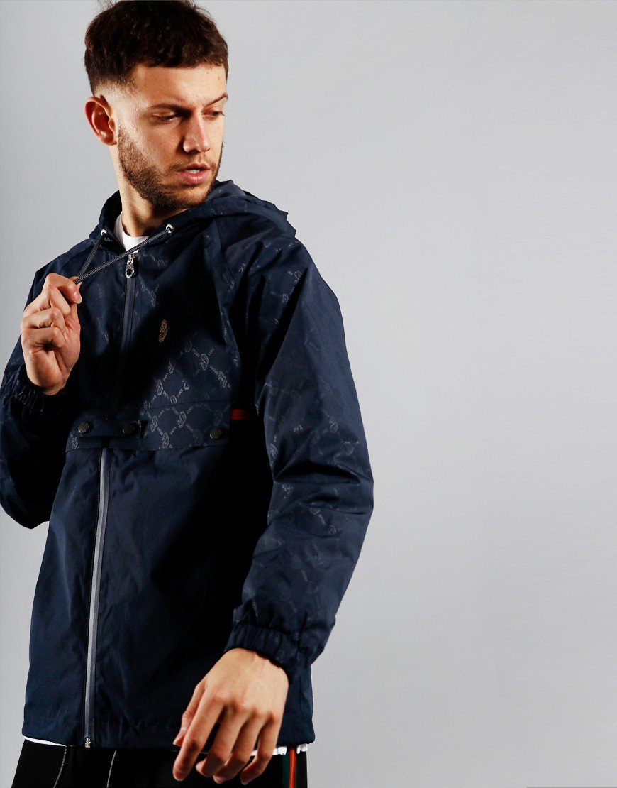 Luke 1977 Bi Carbon Printed Jacket Navy