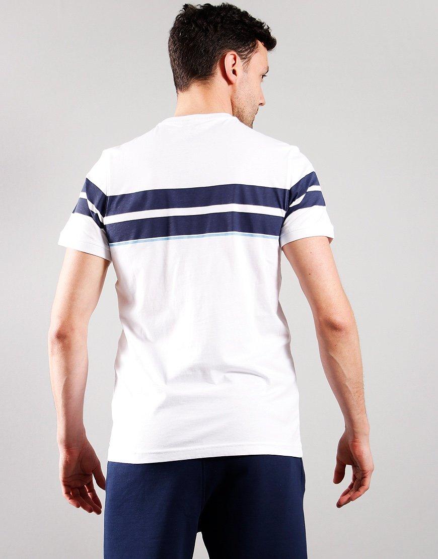 Luke 1977 Brazilia T-Shirt White/Navy/Azzure