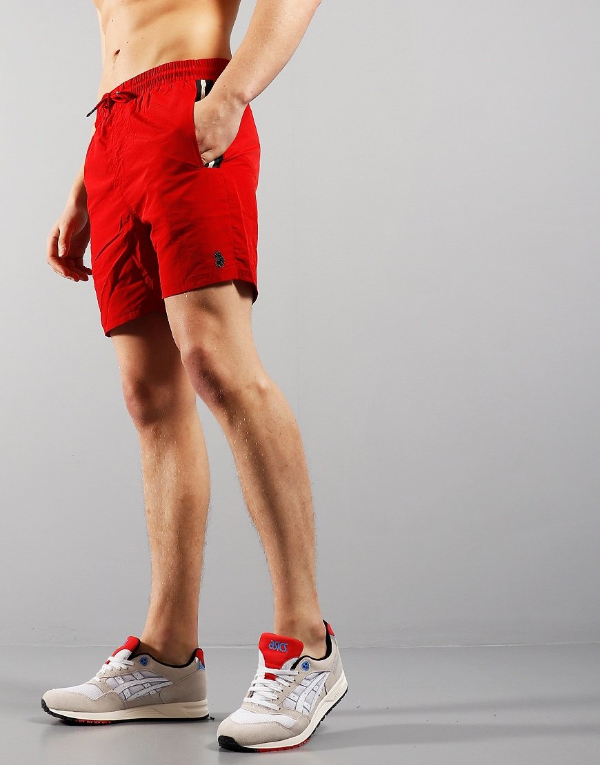Luke 1977 Caen Shorts Tech Red