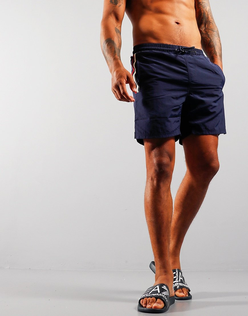 Luke 1977 Caen Shorts Very Dark Navy