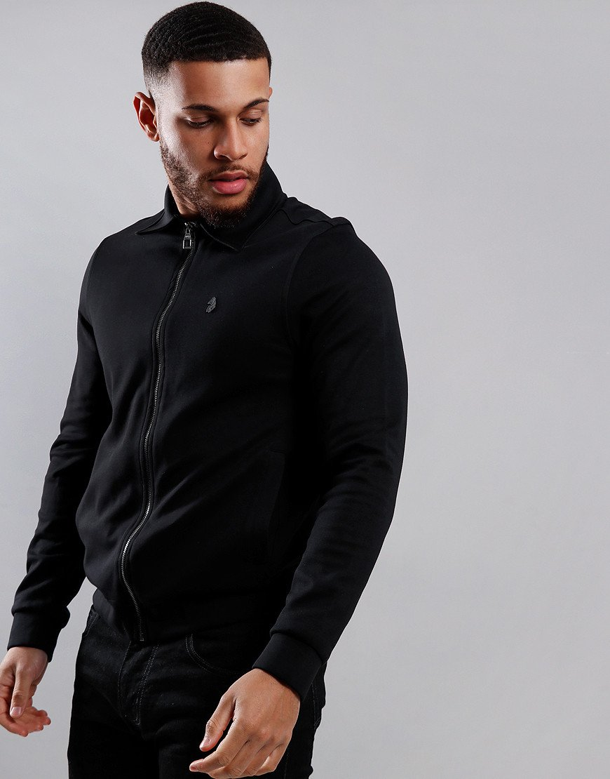 Luke 1977 Check Yourself Full Zip Sweat Jet Black