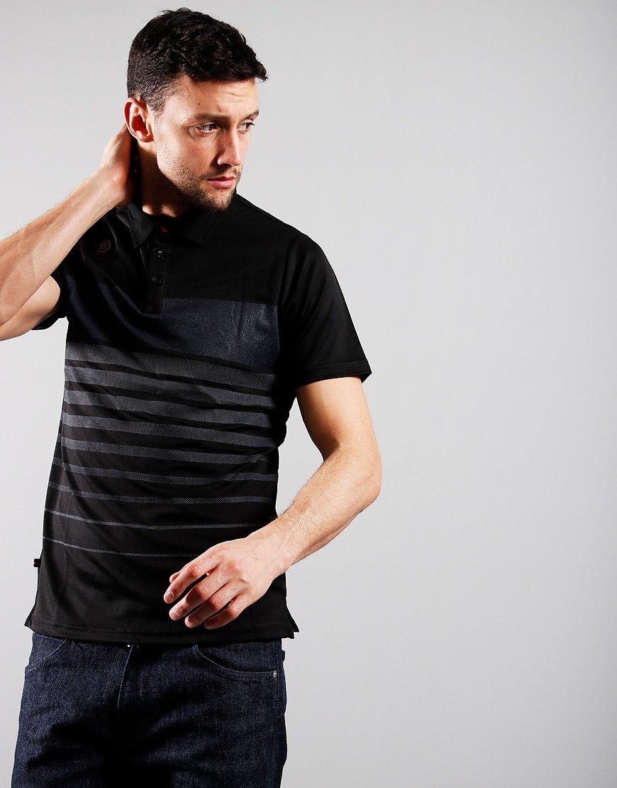 Luke 1977 Eastoe Polo Shirt Black Mix