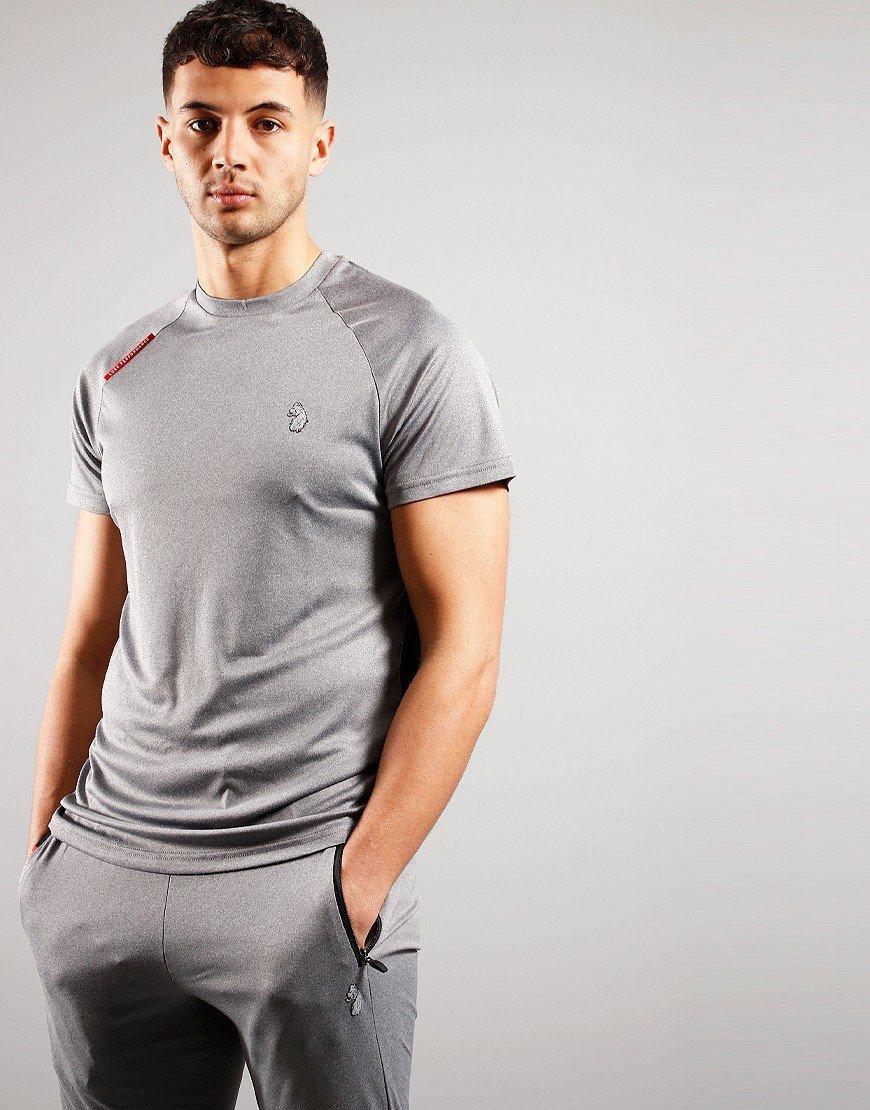 Luke 1977 Crunch T-shirt Marl Light Grey