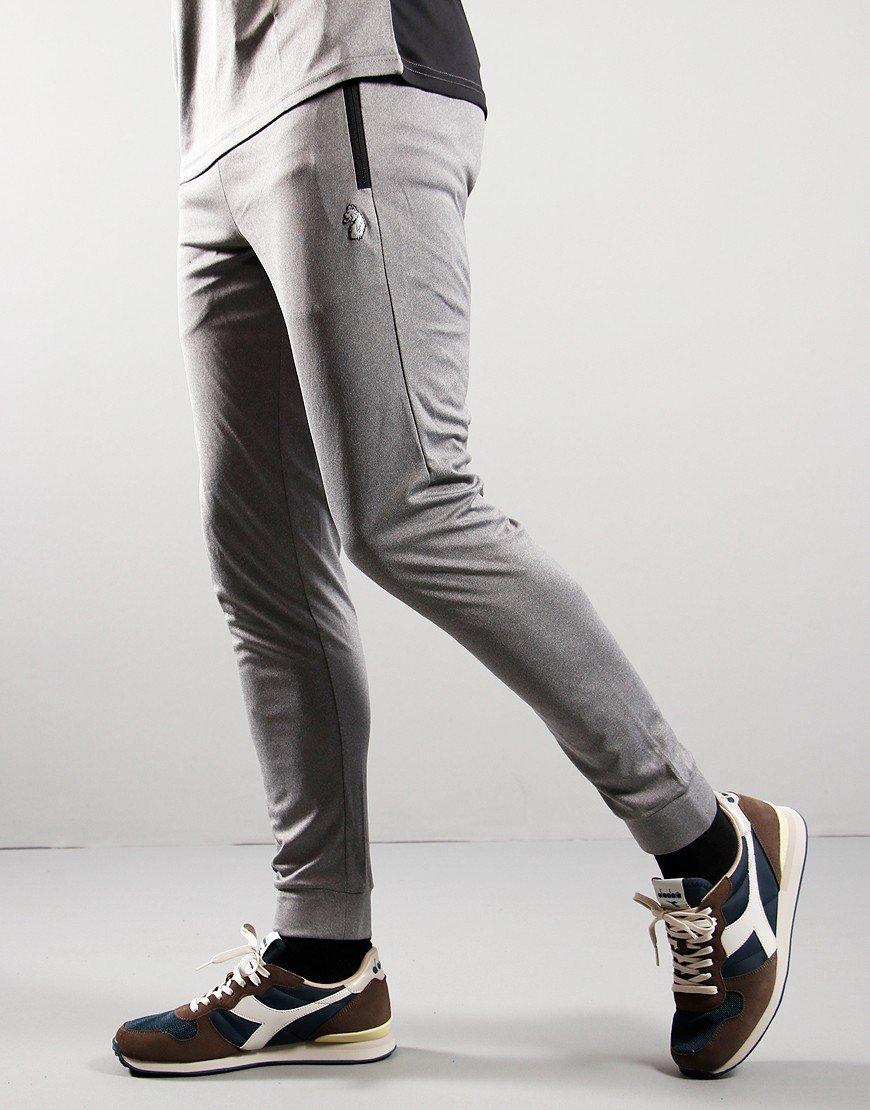 LUKE 1977 KPI Sweat Pants Marl Light Grey