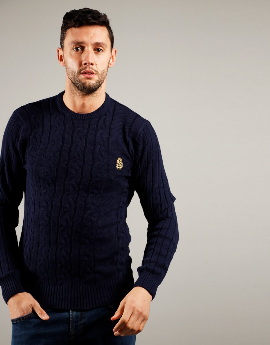 Luke 1977 Morden Knit Navy