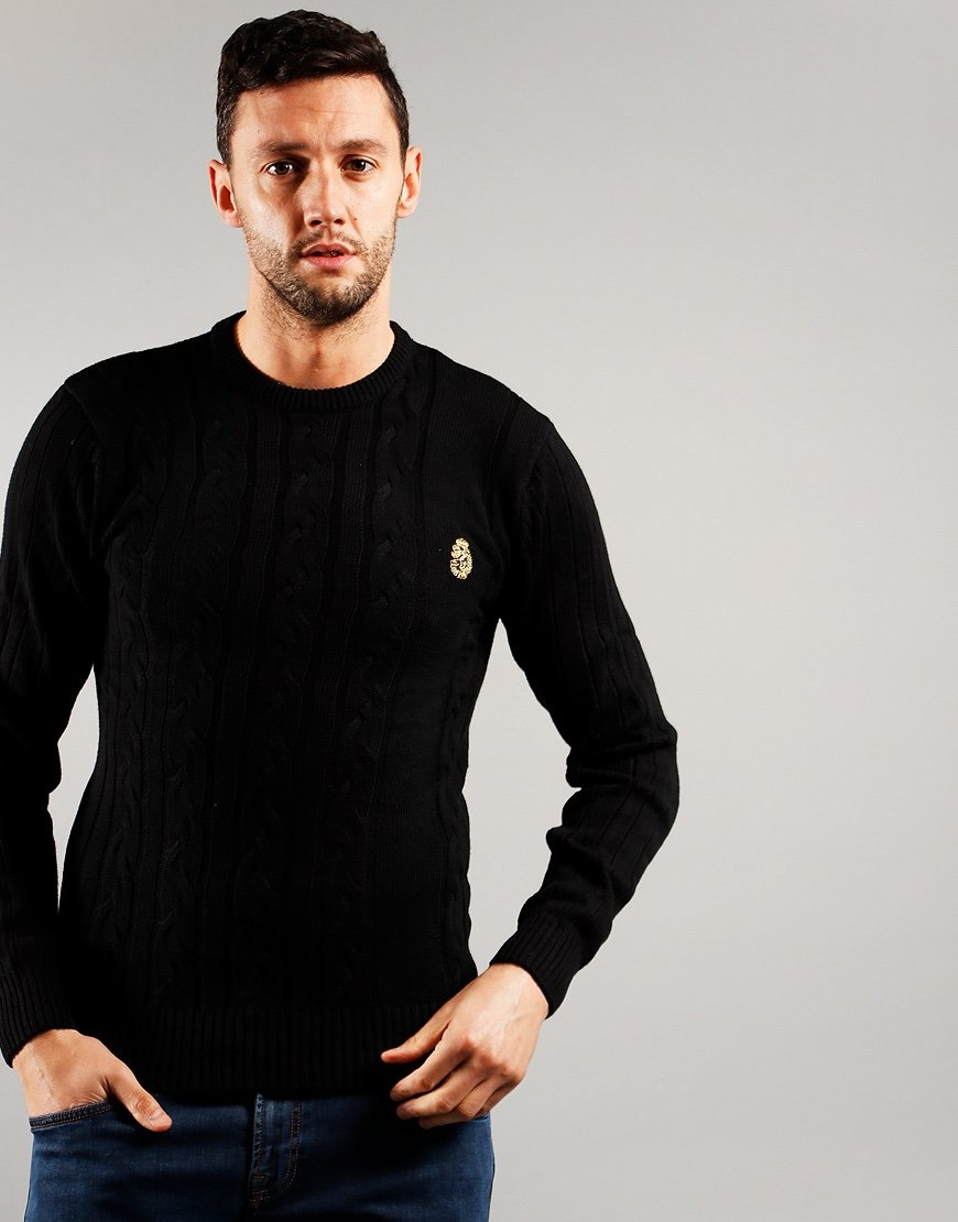 Luke 1977 Morden Knit Black