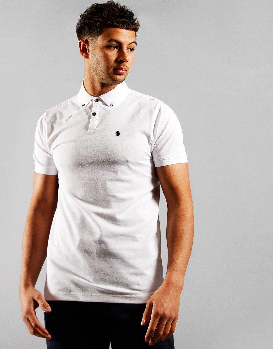 Luke 1977 New Bil Polo Shirt White