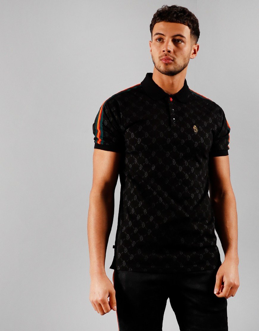 Luke 1977 Princey Polo Shirt Jet Black