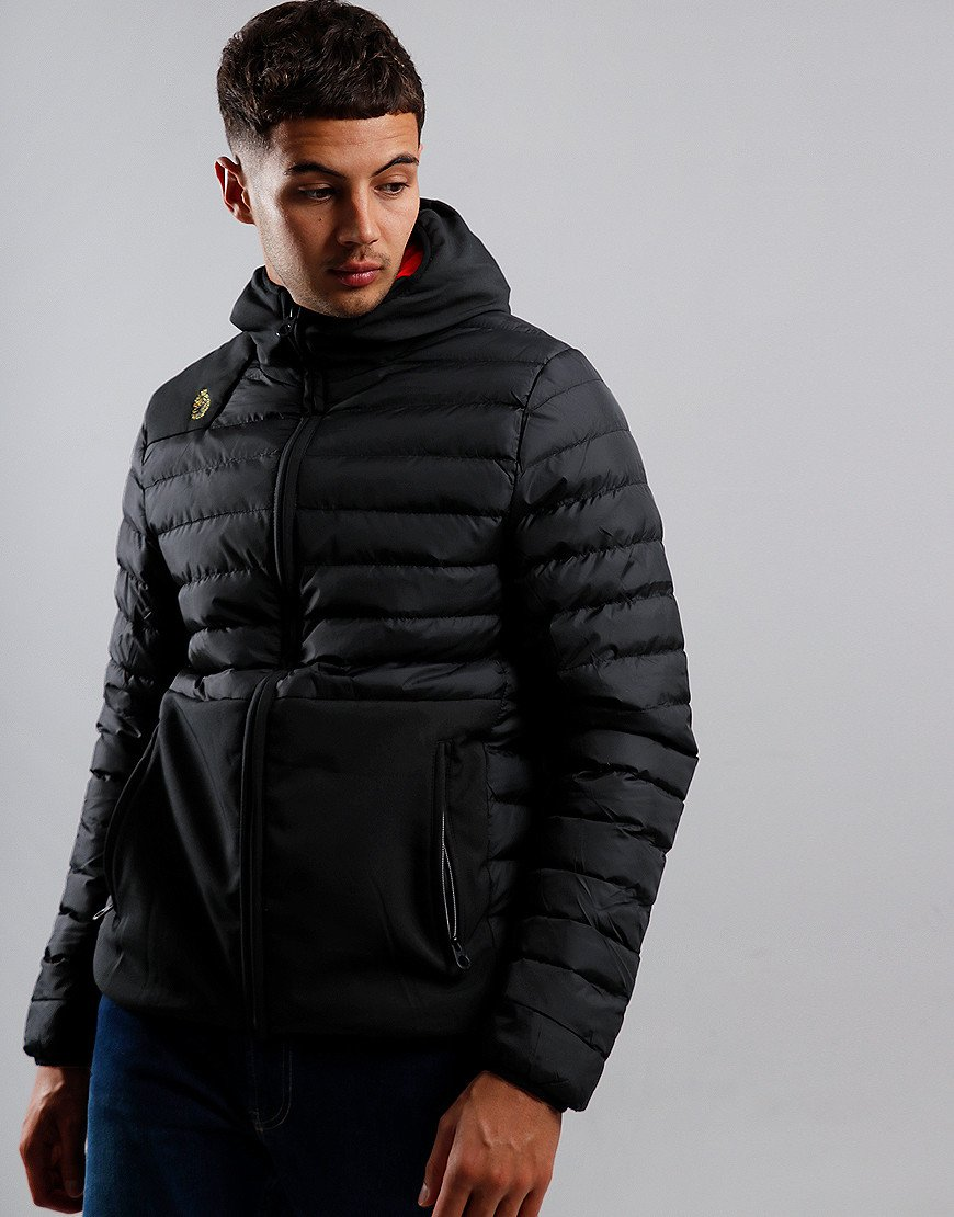 Luke 1977 Bubbla Quilted Jacket Black