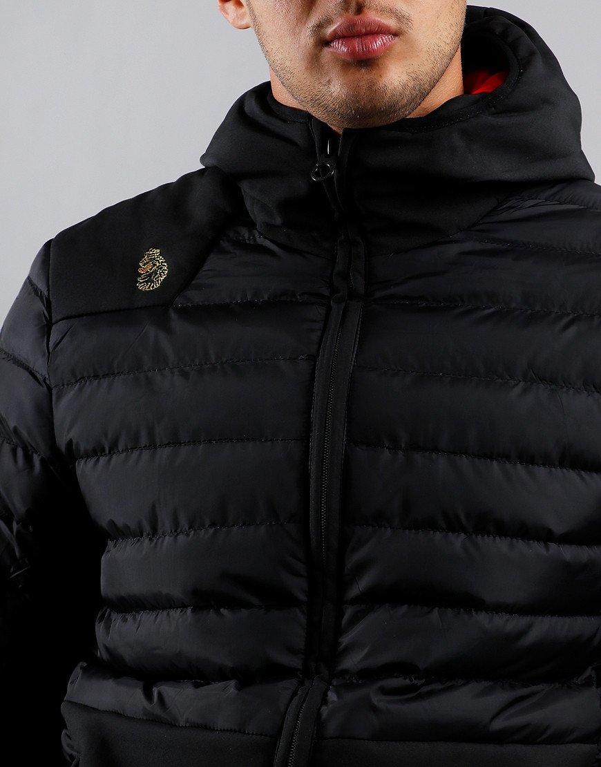 Luke 1977 Bubbla Quilted Jacket Black