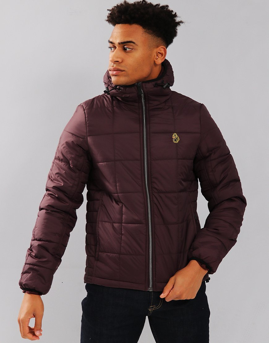 Luke 1977 Southy Padded Jacket Plum